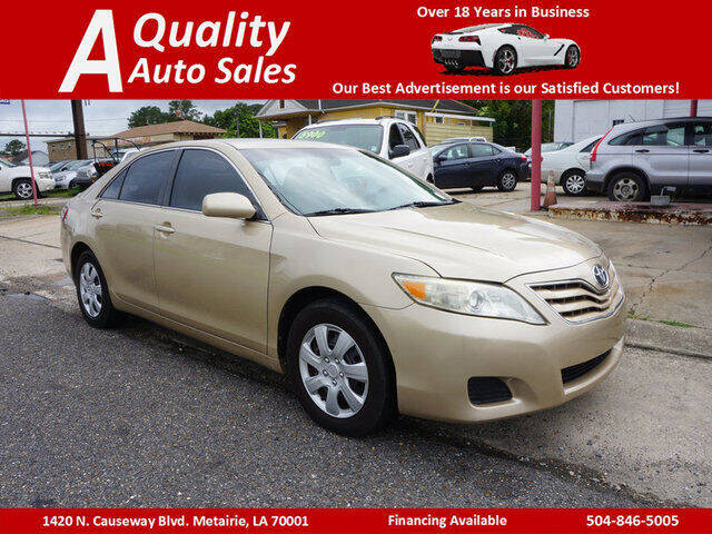 2011 Toyota Camry for sale at A Quality Auto Sales in Metairie LA