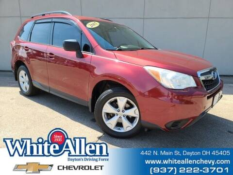 2015 Subaru Forester for sale at WHITE-ALLEN CHEVROLET in Dayton OH