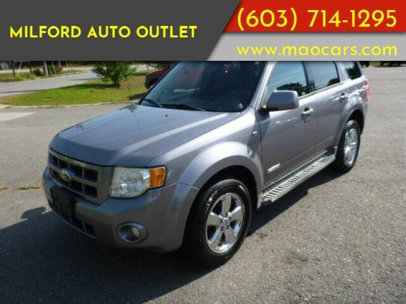 2008 Ford Escape for sale at Milford Auto Outlet in Milford NH