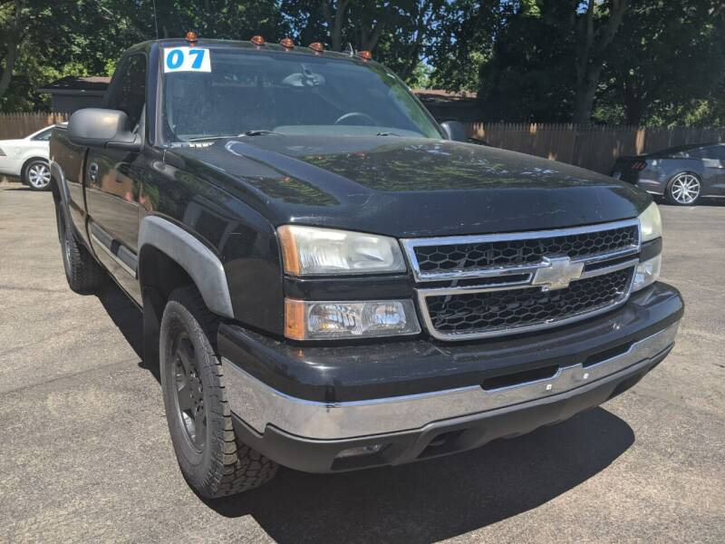 2007 Chevrolet Silverado 1500 Classic for sale at GREAT DEALS ON WHEELS in Michigan City IN
