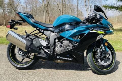 2021 Kawasaki Ninja ZX-6R for sale at Street Track n Trail in Conneaut Lake PA