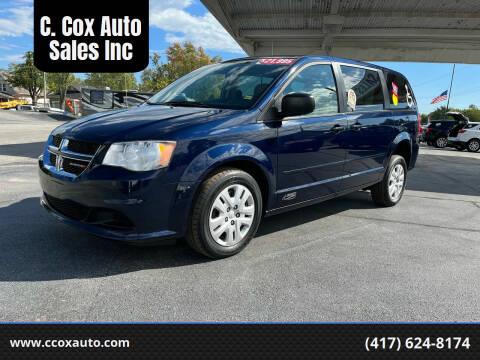 2015 Dodge Grand Caravan for sale at C. Cox Auto Sales Inc in Joplin MO