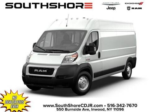 2021 RAM ProMaster Cargo for sale at South Shore Chrysler Dodge Jeep Ram in Inwood NY