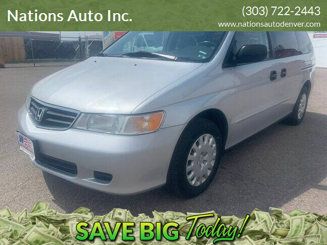2004 Honda Odyssey for sale at Nations Auto Inc. in Denver CO