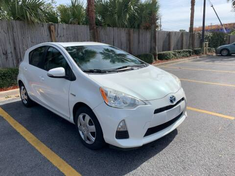 2012 Toyota Prius c for sale at Asap Motors Inc in Fort Walton Beach FL
