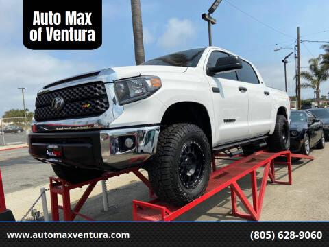 2020 Toyota Tundra for sale at Auto Max of Ventura in Ventura CA