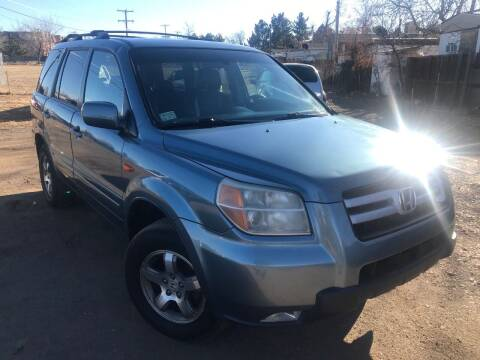 2007 Honda Pilot for sale at 3-B Auto Sales in Aurora CO