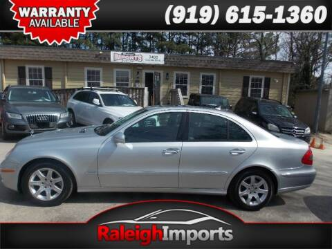 2008 Mercedes-Benz E-Class for sale at Raleigh Imports in Raleigh NC