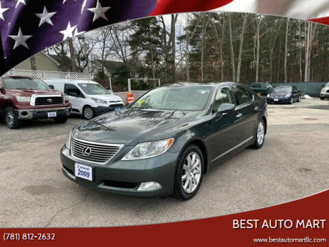 2009 Lexus LS 460 for sale at Best Auto Mart in Weymouth MA
