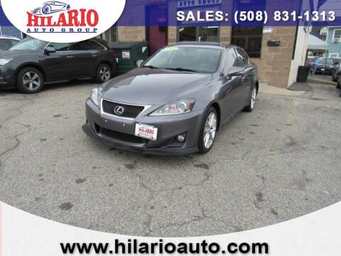 2013 Lexus IS 250 for sale at Hilario's Auto Sales in Worcester MA