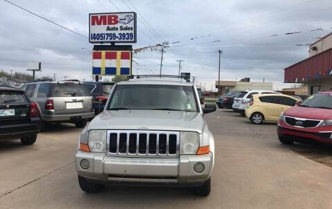 2007 Jeep Commander for sale at MB Auto Sales in Oklahoma City OK