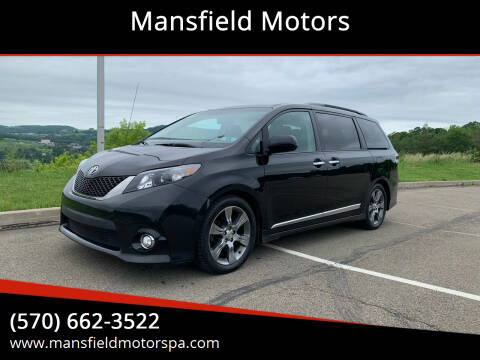 2013 Toyota Sienna for sale at Mansfield Motors in Mansfield PA