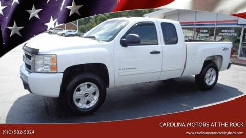 2010 Chevrolet Silverado 1500 for sale at Carolina Motors at the Rock in Rockingham NC