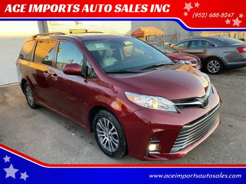 2019 Toyota Sienna for sale at ACE IMPORTS AUTO SALES INC in Hopkins MN