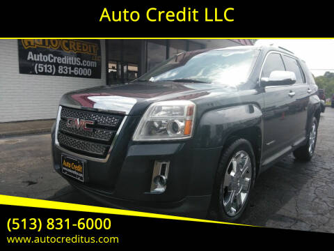 2011 GMC Terrain for sale at Auto Credit LLC in Milford OH