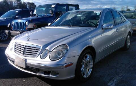 2003 Mercedes-Benz E-Class for sale at Angelo's Auto Sales in Lowellville OH