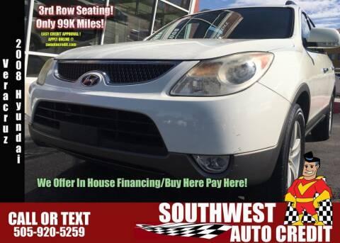 2008 Hyundai Veracruz for sale at SOUTHWEST AUTO in Albuquerque NM