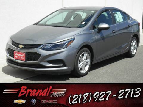 2018 Chevrolet Cruze for sale at Brandl GM in Aitkin MN