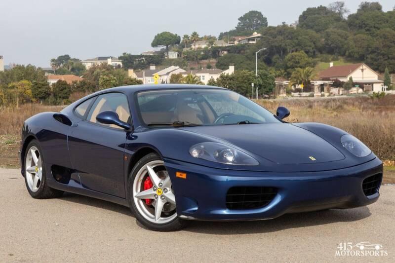 2000 Ferrari 360 Modena for sale at 415 Motorsports in San Rafael CA