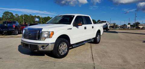 2011 Ford F-150 for sale at WHOLESALE AUTO GROUP in Mobile AL