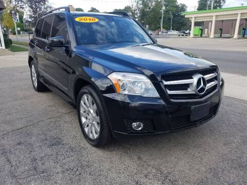 2010 Mercedes-Benz GLK for sale at BELLEFONTAINE MOTOR SALES in Bellefontaine OH