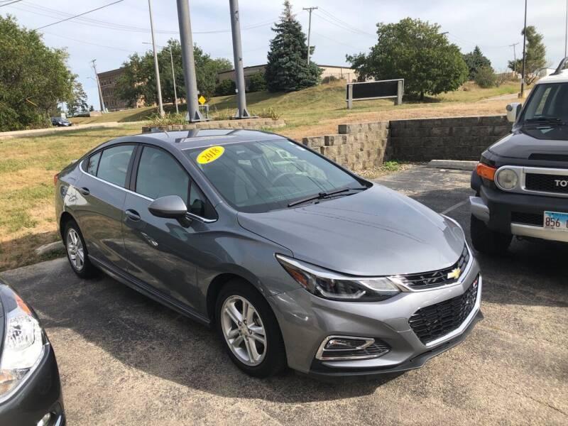 2018 Chevrolet Cruze for sale at Cresthill Auto Sales Enterprises LTD in Crest Hill IL
