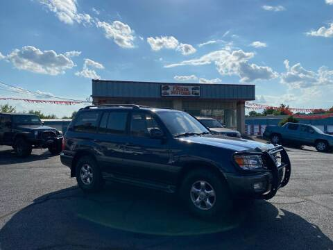 2002 Toyota Land Cruiser for sale at 4X4 Rides in Hagerstown MD