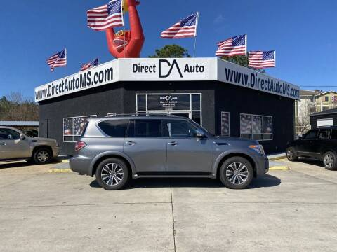 2018 Nissan Armada for sale at Direct Auto in D'Iberville MS