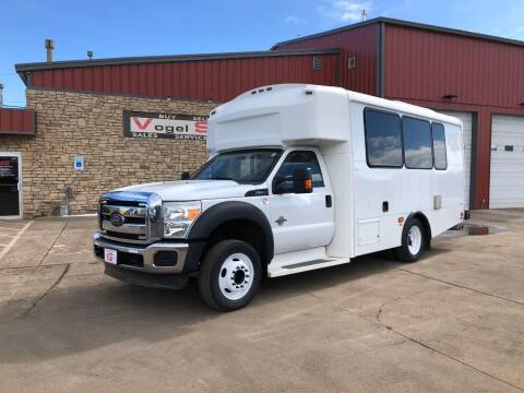 2012 Ford F-550 Shuttle Bus for sale at Vogel Sales Inc in Commerce City CO