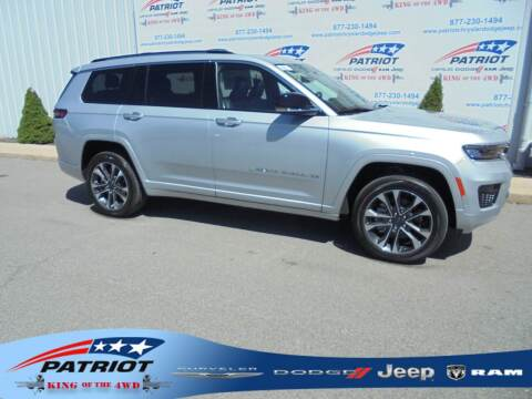2021 Jeep Grand Cherokee L for sale at PATRIOT CHRYSLER DODGE JEEP RAM in Oakland MD