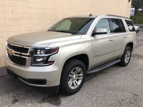 2015 Chevrolet Tahoe for sale at Bill's Auto Sales in Peabody MA