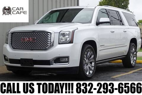 2016 GMC Yukon XL for sale at CAR CAFE LLC in Houston TX
