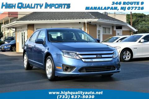 2010 Ford Fusion for sale at High Quality Imports in Manalapan NJ