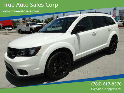 2017 Dodge Journey for sale at True Auto Sales Corp in Miami FL
