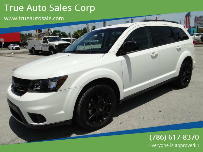 2017 Dodge Journey for sale at True Auto Sales Corp in Miami FL