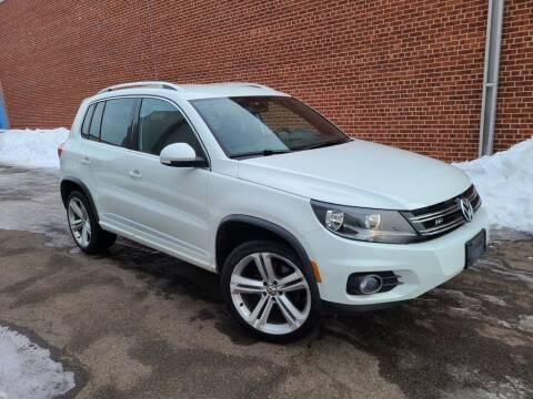 2016 Volkswagen Tiguan for sale at Minnesota Auto Sales in Golden Valley MN