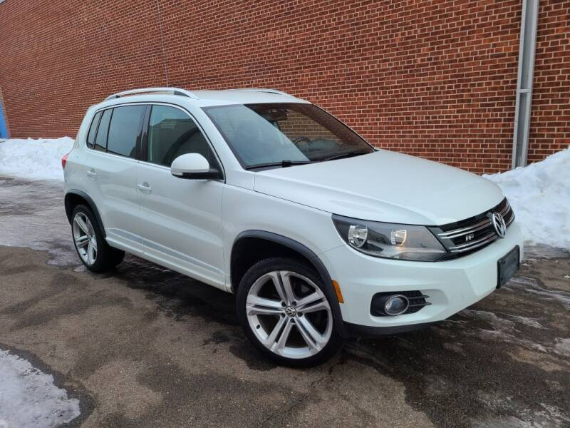 2016 Volkswagen Tiguan for sale at Minnesota Auto Sales in Golden Valley MN