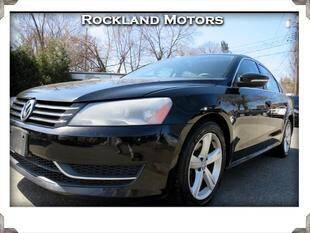 2012 Volkswagen Passat for sale at Rockland Automall - Rockland Motors in West Nyack NY