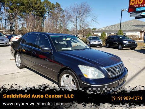 2006 Lexus LS 430 for sale at Smithfield Auto Center LLC in Smithfield NC