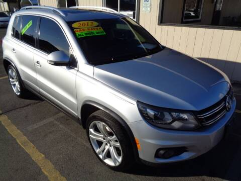 2012 Volkswagen Tiguan for sale at BBL Auto Sales in Yakima WA