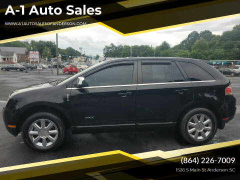2008 Lincoln MKX for sale at A-1 Auto Sales in Anderson SC