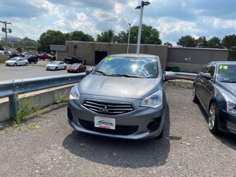 2019 Mitsubishi Mirage G4 for sale at Santa Motors Inc in Rochester NY