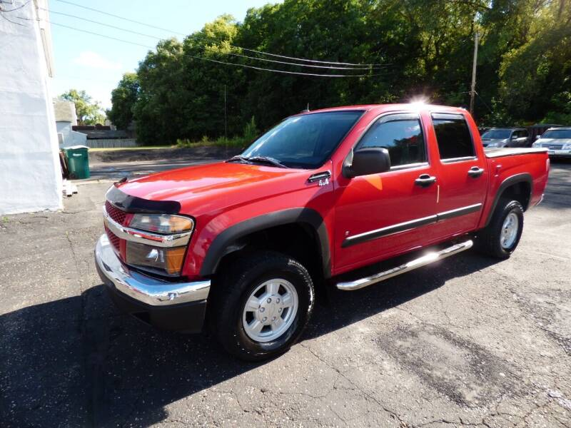 2008 Chevrolet Colorado for sale at Chris's Century Car Company in Saint Paul MN