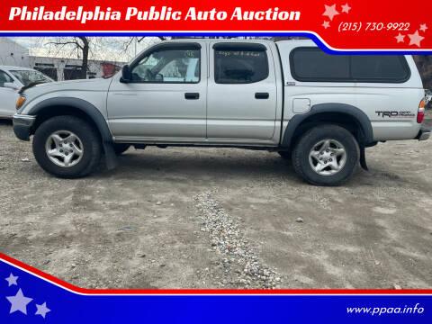 2003 Toyota Tacoma for sale at Philadelphia Public Auto Auction in Philadelphia PA