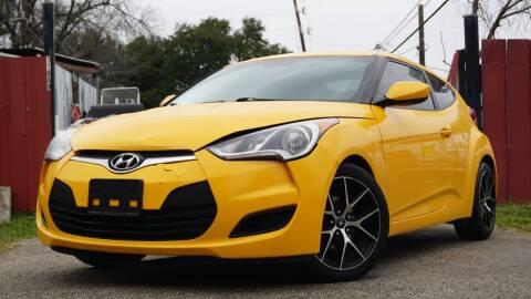 2016 Hyundai Veloster for sale at Hidalgo Motors Co in Houston TX