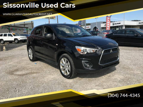 2013 Mitsubishi Outlander Sport for sale at Sissonville Used Cars in Charleston WV