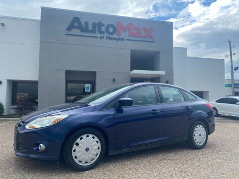 2012 Ford Focus for sale at AutoMax of Memphis - V Brothers in Memphis TN