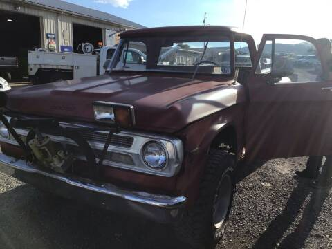 1966 Dodge Truck for sale at Troys Auto Sales in Dornsife PA