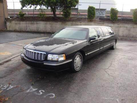 1998 Cadillac Deville 6-Door Limousine