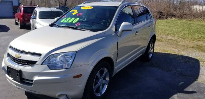 2014 Chevrolet Captiva Sport for sale at Country Auto Sales in Boardman OH